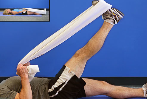 Hình ảnh Bài tập vật lý trị liệu cho bệnh nhân thoái hóa khớp gối tại nhà