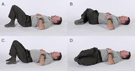 bài tập giảm đau lưng cho người bị thoát vị đĩa đệm2