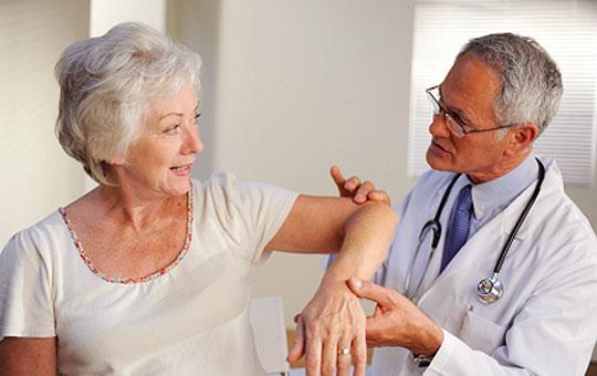 chăm sóc bệnh nhân viêm khớp